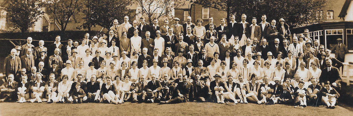Goldieslie Club Opening Day 6th May 1928